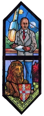 C.S. Lewis Stained Glass Window[139]