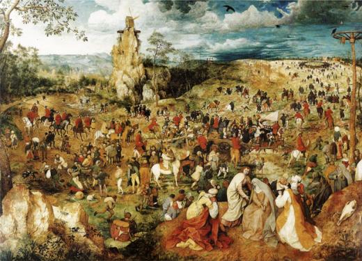 Road-to-calvary-bruegel-sm1