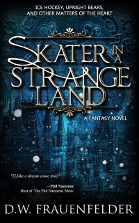 Skater-in-a-Strange-Land-800 Cover reveal and Promotional