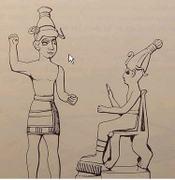 Baal_adad_horned_on_throne